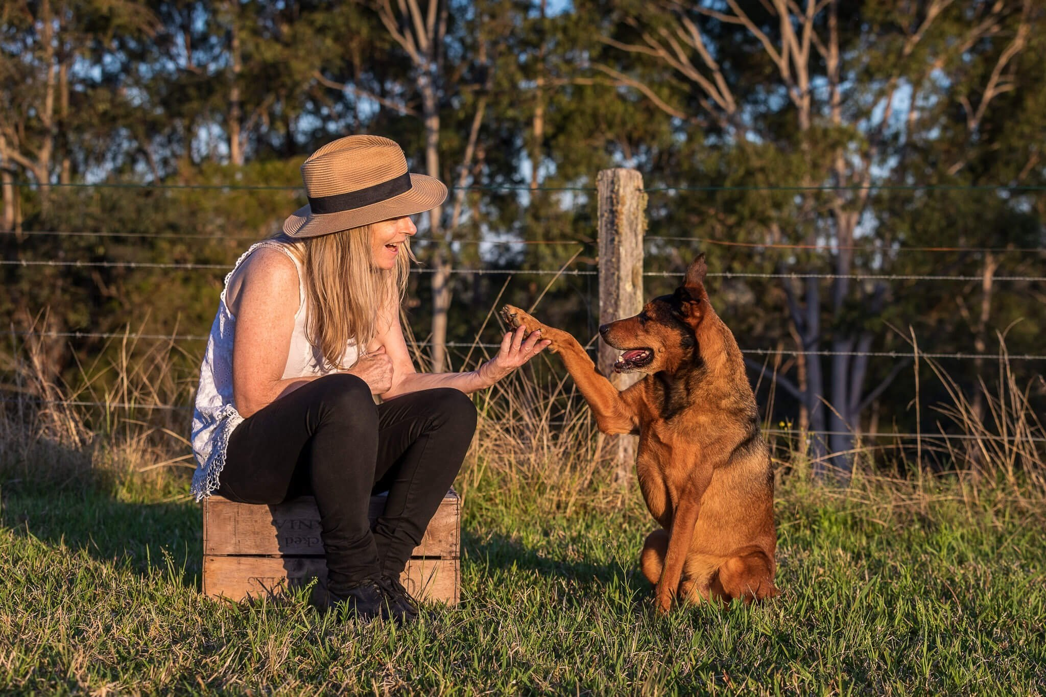 Max-and-his-Mum-Louise-on-the-farm