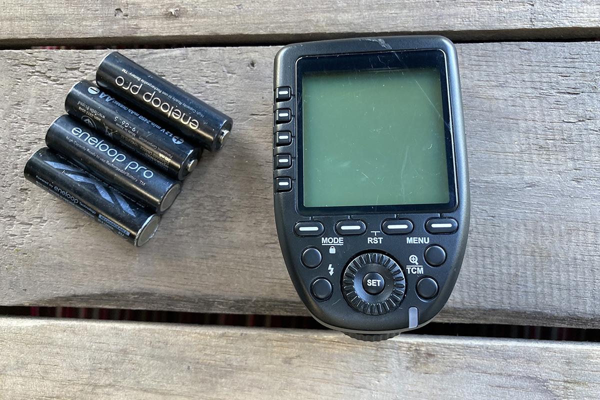 Other essentials: Flash Transmitter  Batteries