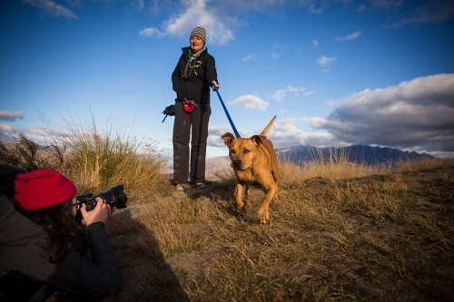Dog Photography Retreat QueenstownOn Coronet Peak