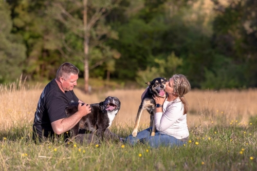 Jo Lyons Photography-Sprocket, Lachie and their Dad and Mum